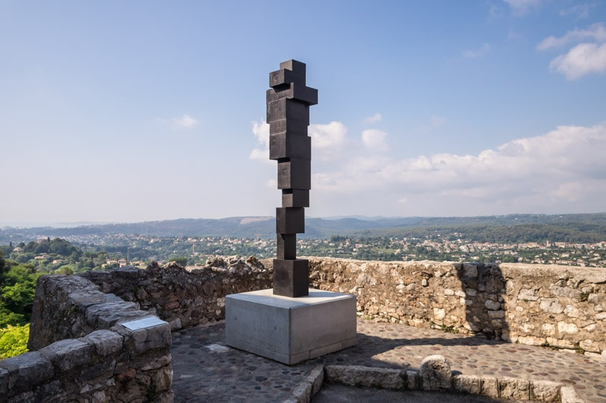 Antony Gormley, Big switch, sculpture Saint Paul de Vence Biennale Inexhibit