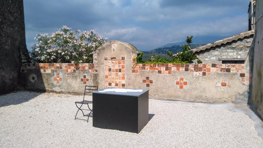 Isabelle Giovacchini, Geomancie, Saint Paul de Vence Biennale Inexhibit 2