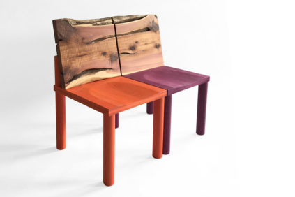 Lake-Como-Design-Fair-Pierre Gonalons Editions-Studiolo chairs-©Romaric-Tisserand