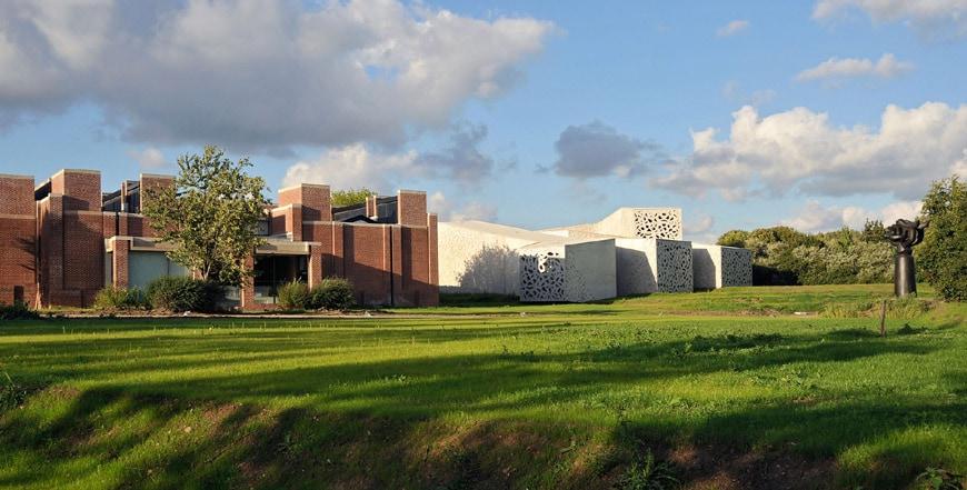 Lille Métropole Modern Art Museum expansion Manuelle Gautrand 02