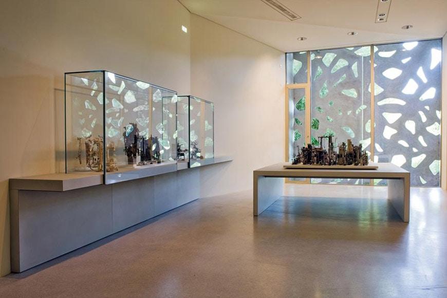 Lille Métropole Modern Art Museum expansion Manuelle Gautrand interior 02