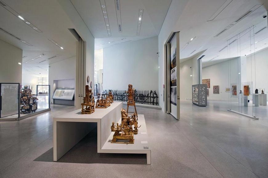 Lille Métropole Modern Art Museum expansion Manuelle Gautrand interior 03