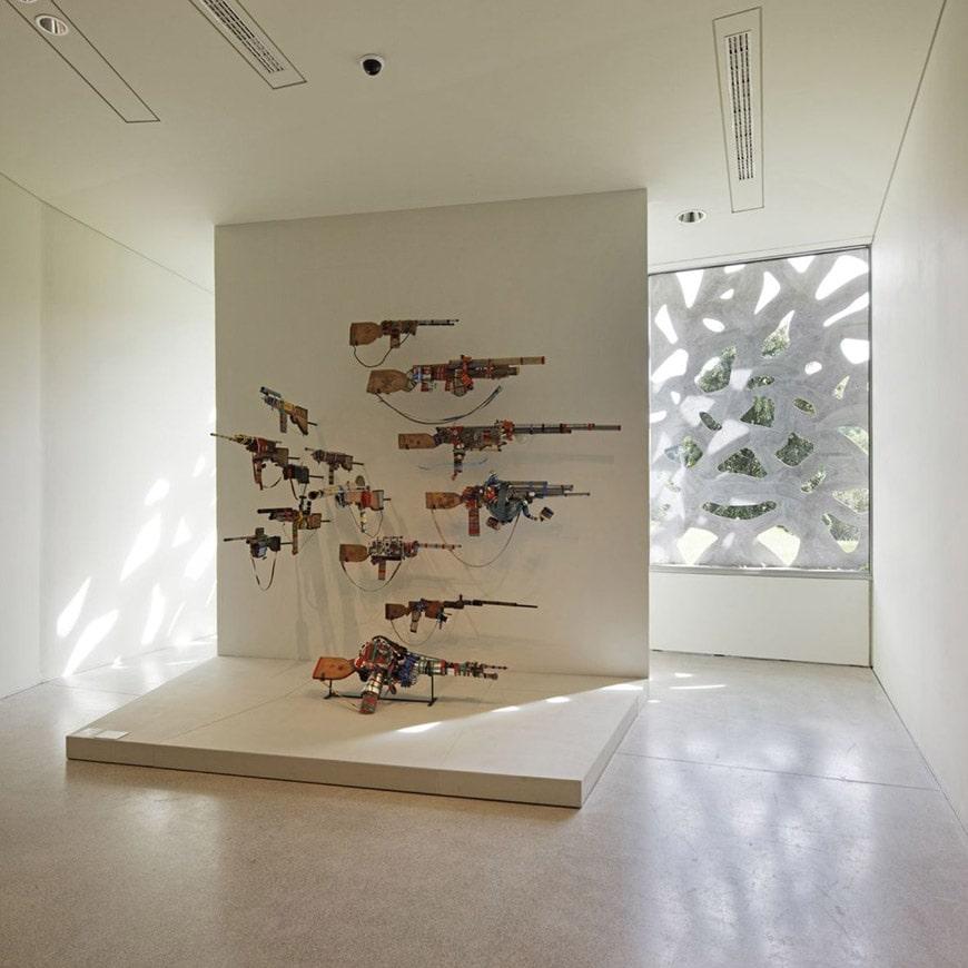 Lille Métropole Modern Art Museum expansion Manuelle Gautrand interior 05
