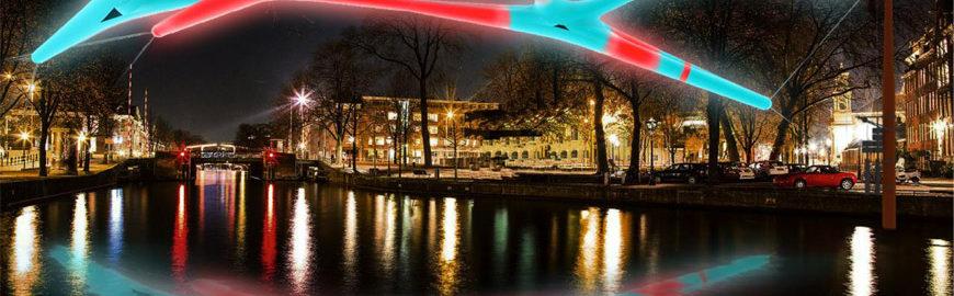 Luci d'artista ad Amsterdam per il 7° Festival delle luci