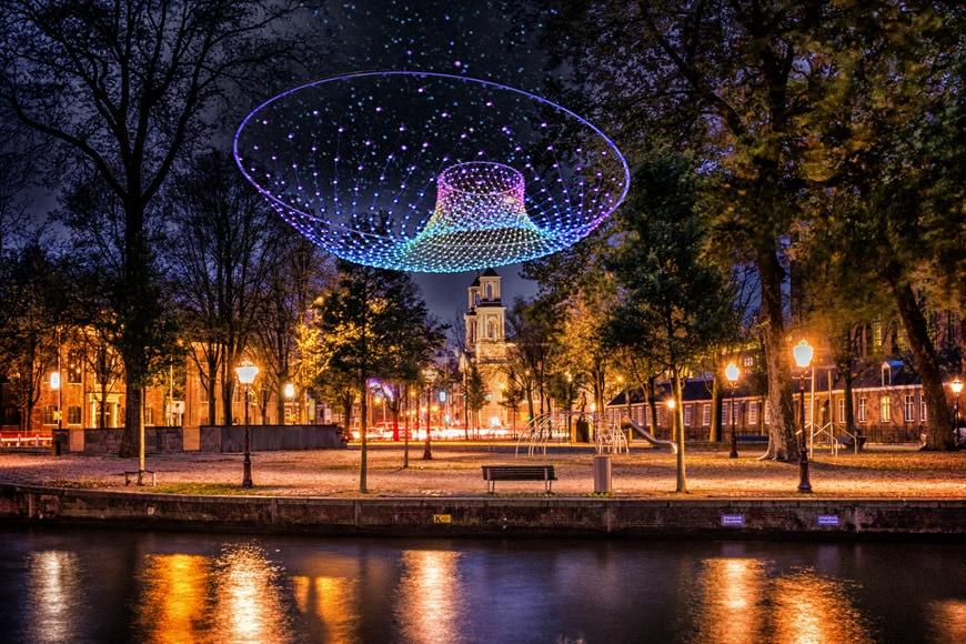 Amsterdam Light Festival 2018 2019 Parabolic Lightcloud_amigo _ amigo