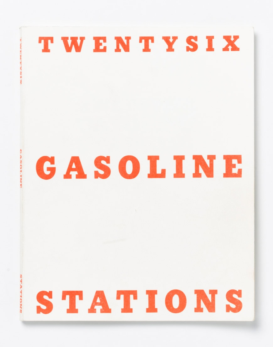Ed RuschaTwentysix Gasoline Stations book cover