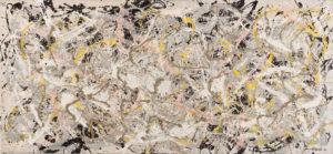 Jackson Pollock Number 27 mostra Roma Vittoriano