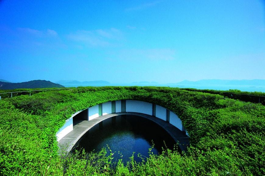 Tadao Ando Benesse House Oval Naoshima Island