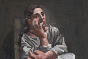 picasso-metamorfosi-milano-palazzo-reale-PABLO-PICASSO-seated woman 1920
