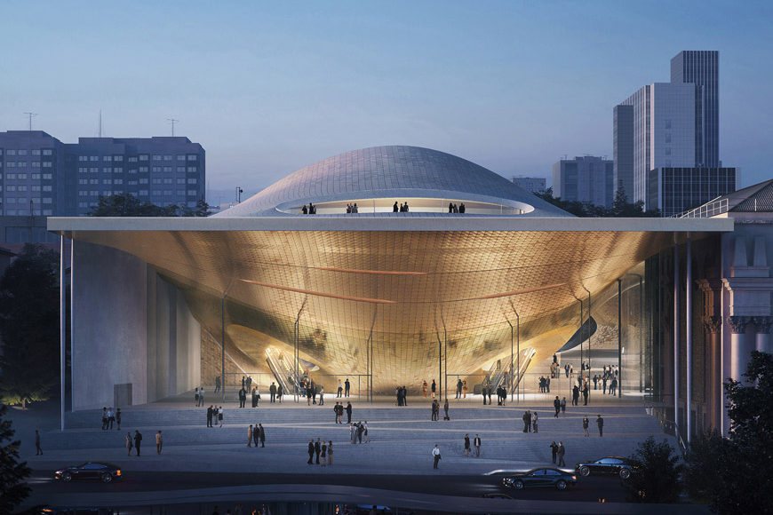 Zaha-Hadid-Architects-Sverdlovsk Philharmonic Concert Hal-Entrance