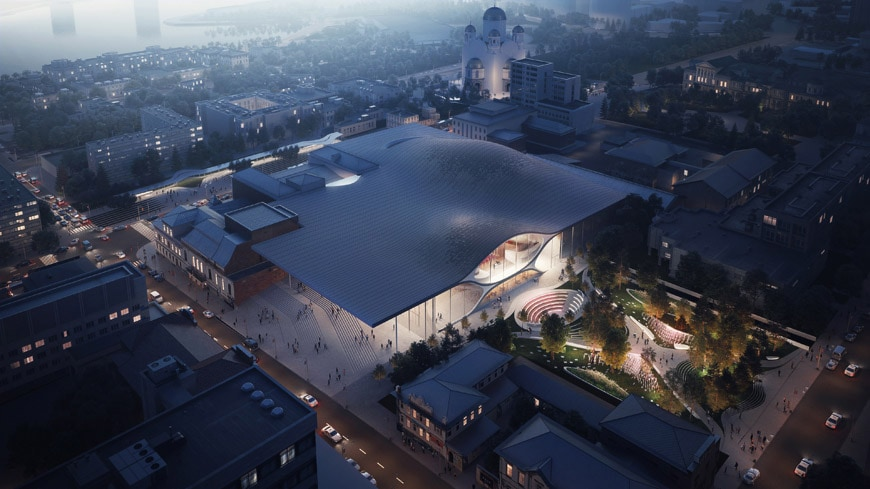 Zaha-Hadidi-Architects-Sverdlovsk-Philharmonic-Concert-Hall-Aeriel-Render by VA
