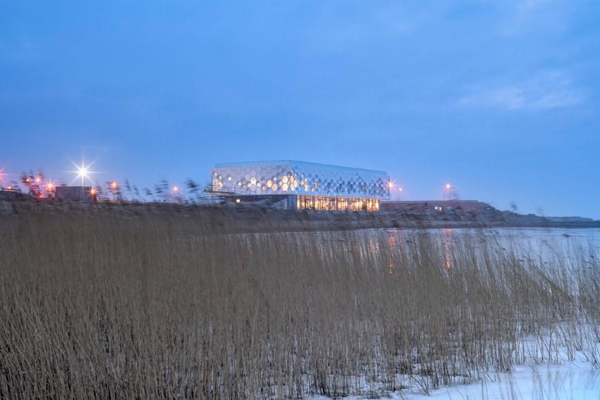 Afsluitdijk Wadden Center 2