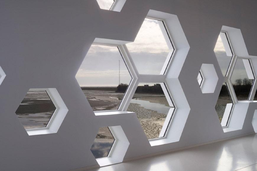 Afsluitdijk Wadden Center 3