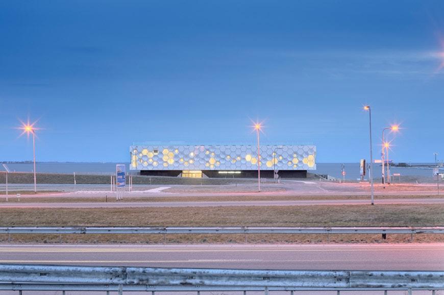 Afsluitdijk Wadden Center 6
