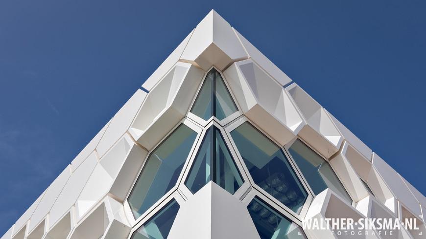 Afsluitdijk Wadden Center facade detail