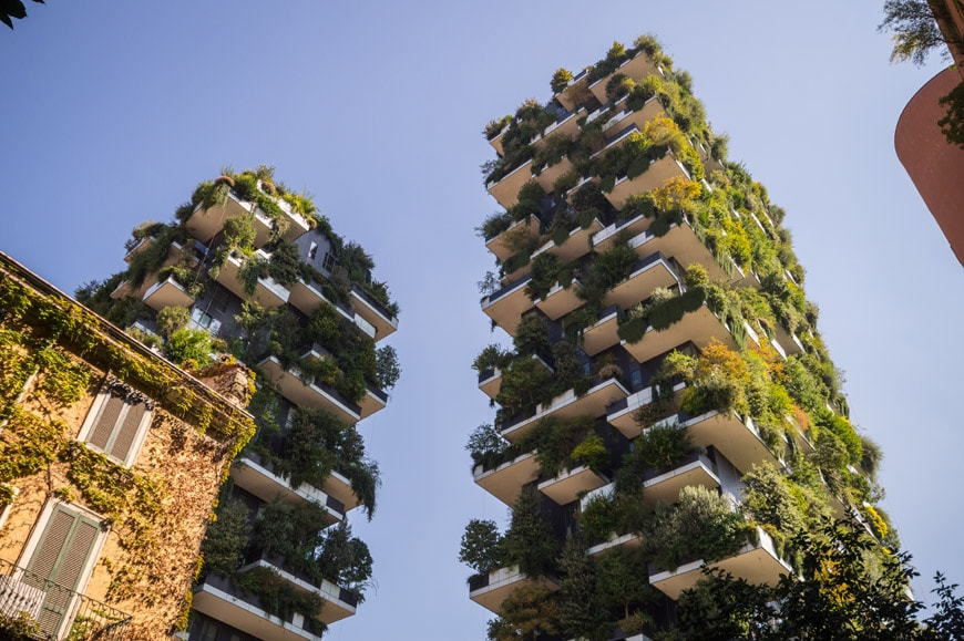 Bosco Verticale Vertical Forest towers Milan Stefano Boeri 02 Inexhibit