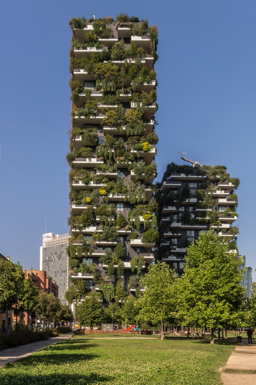 Bosco Verticale Vertical Forest towers Milan Stefano Boeri 03 Inexhibit