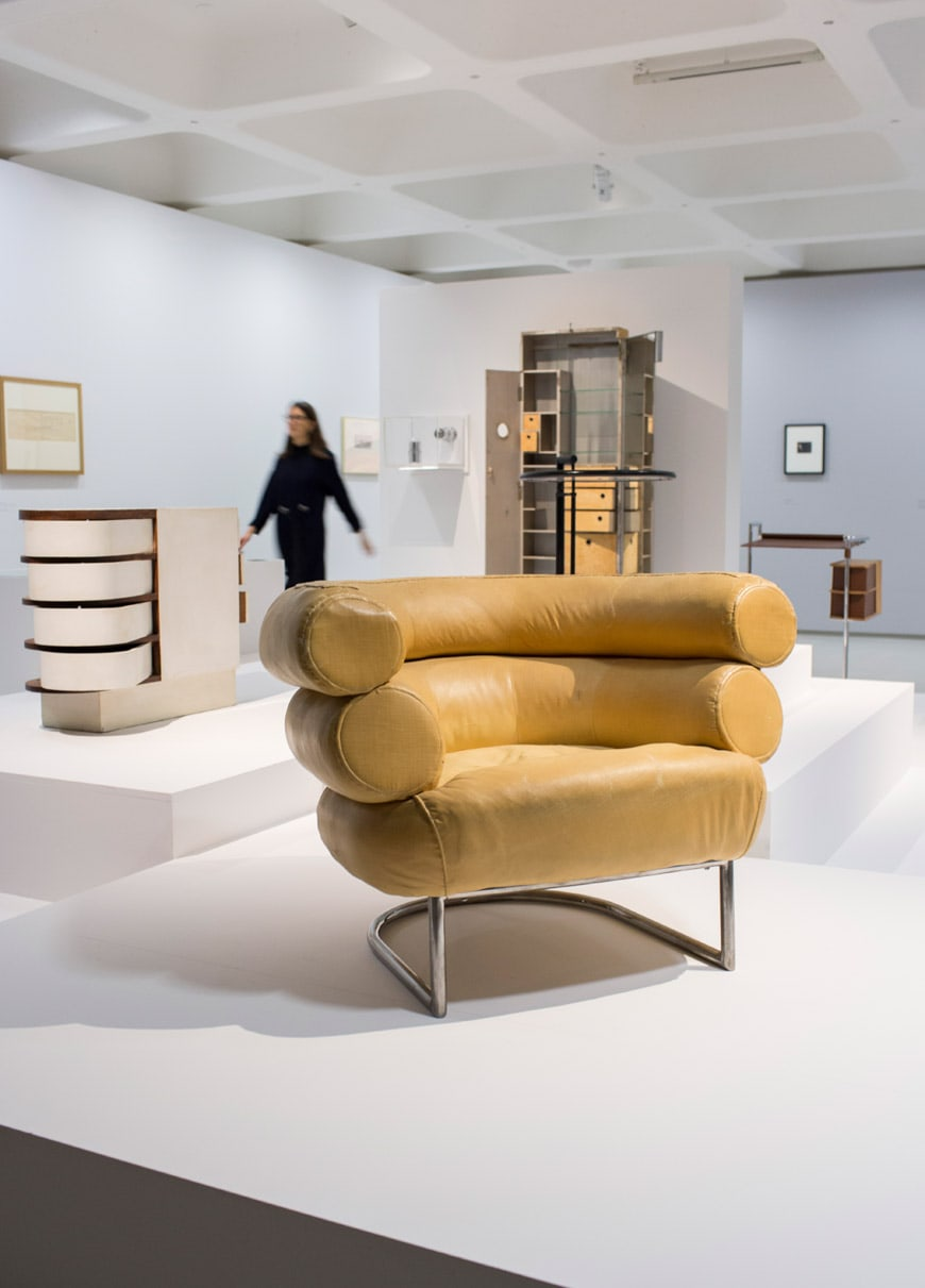 Modern Couples exhibition Barbican Art Gallery London Eileen Gray
