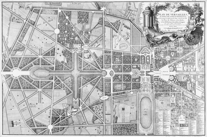 Gardens Of Versailles Plan 7