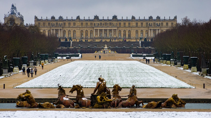 Royal Palace of Versailles gardens 4