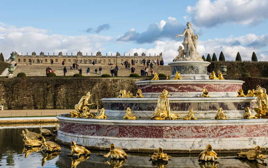 Royal Palace of Versailles gardens 5