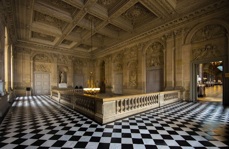 Royal Palace of Versailles interior 1