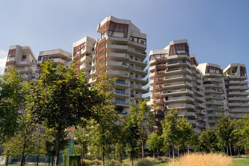 Daniel Libeskind Citylife residences Milan Inexhibit 07