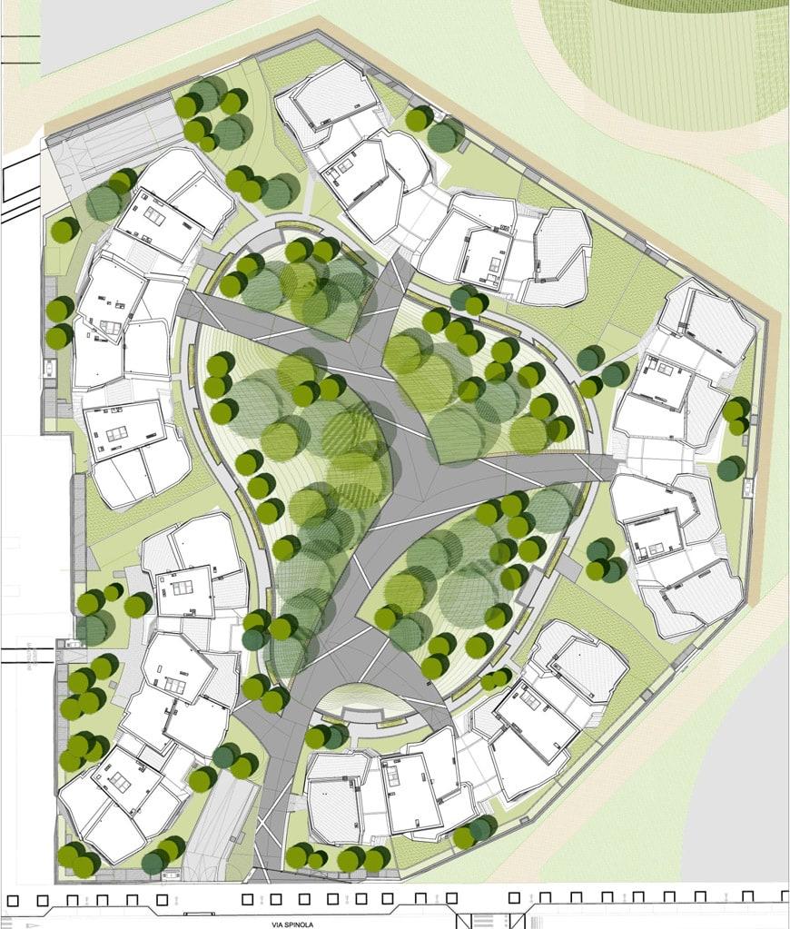 Daniel Libeskind Citylife residences Milan site plan 2