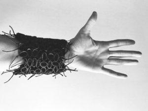 venice-stuff-Raffaella-BRUNZIN-embroidery-gummy-bracelet