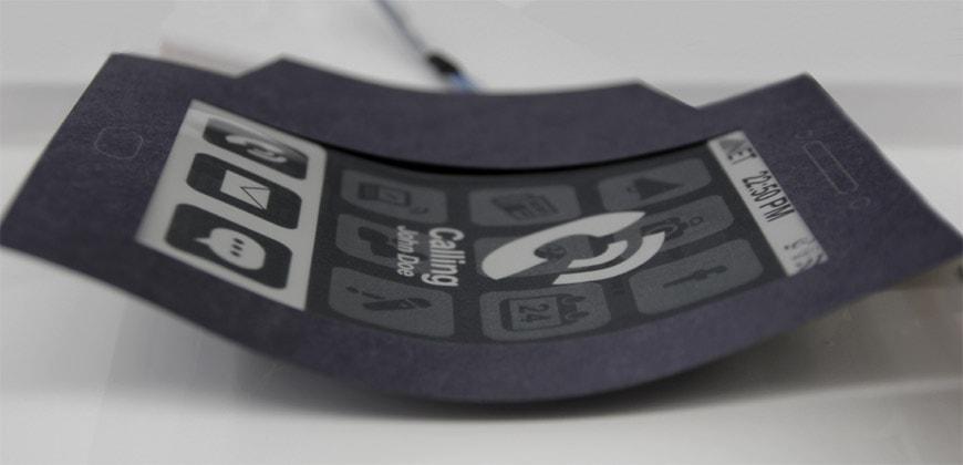MorePhone flexible smartphone prototype