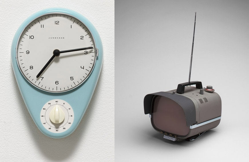 moma-good-design-max-bill-clock-sony-television