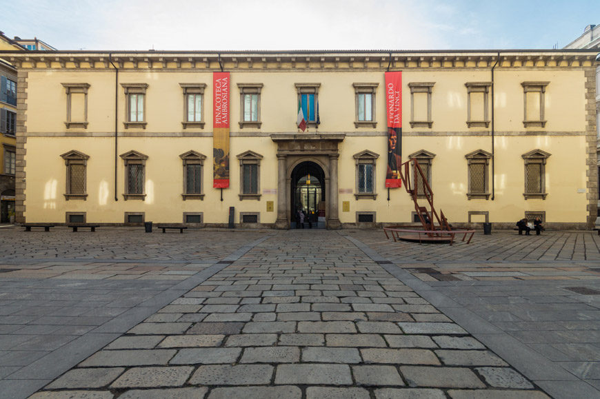 Biblioteca Ambrosiana art museum Milan