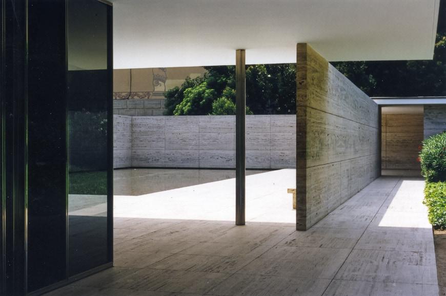 German Pavilion Barcelona Mies van der Rohe Inexhibit 4