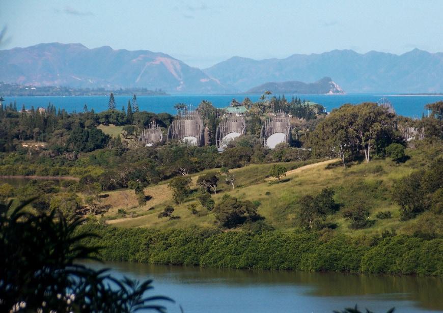 Jean-Marie Tjibaou Cultural Center New Caledonia Renzo Piano 1