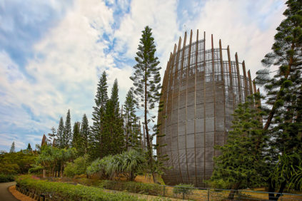 The Jean-Marie Tjibaou Cultural Center by Renzo Piano