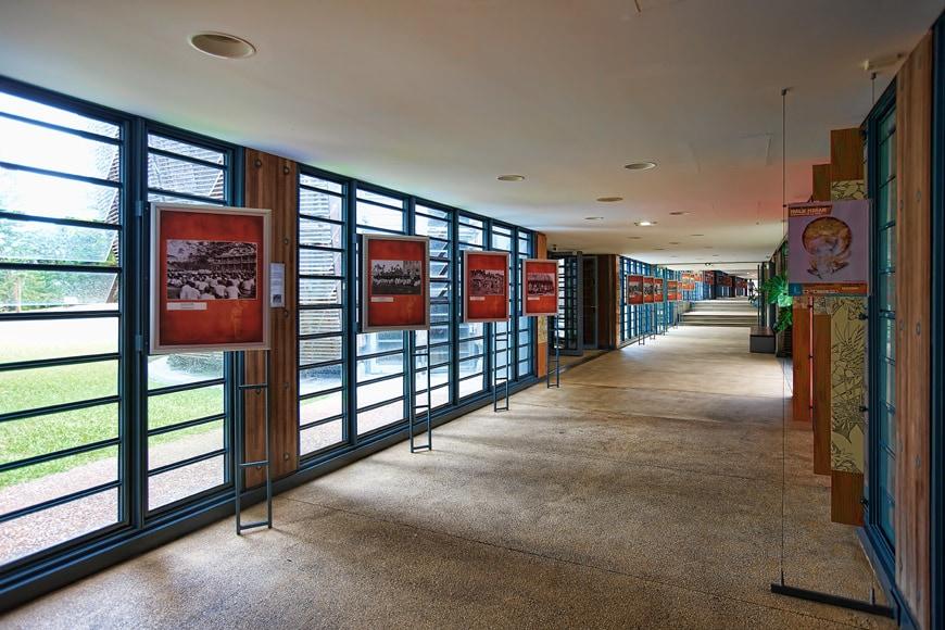 Jean-Marie Tjibaou Cultural Center New Caledonia Renzo Piano interior