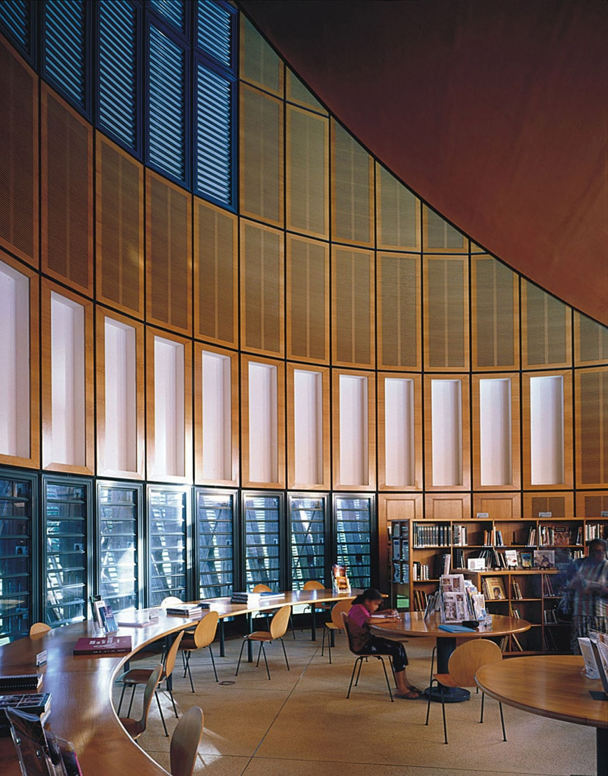 Jean-Marie Tjibaou Cultural Center New Caledonia Renzo Piano library
