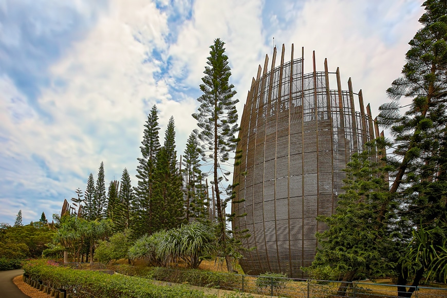 Jean-Marie Tjibaou Cultural Center New Caledonia Renzo Piano