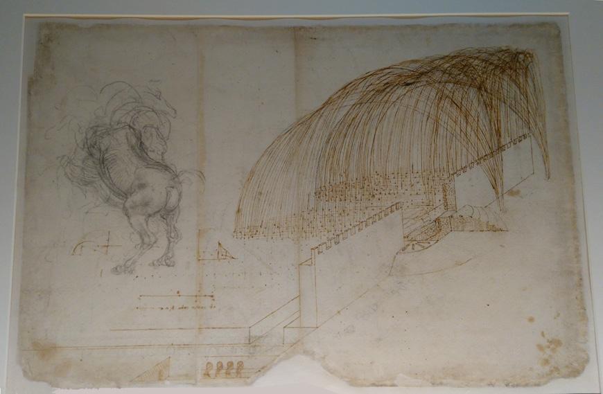 Leonardo-Milano-disegno-codice-atlantico-pinacoteca-ambrosiana-inexhibit