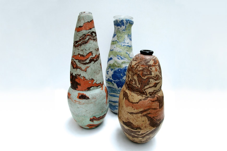 5VIE-WELCOME-DESIGN-Nelly Bonati handmade vases