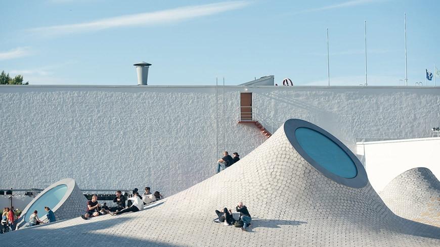 Amos Rex art museum Helsinki JKMM Architects 2