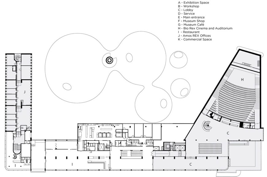 Amos-Rex-art-museum-Helsinki-JKMM-Architects-2nd-floor-plan