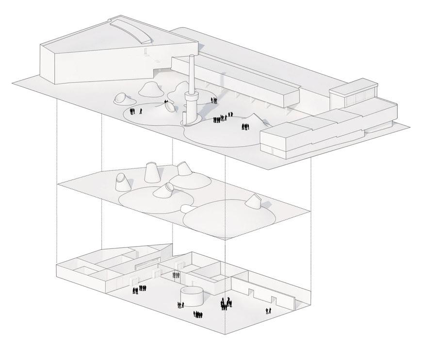 Amos Rex art museum Helsinki JKMM Architects 6