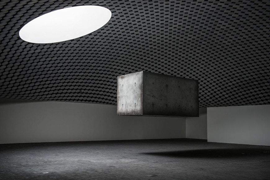 Amos-Rex-art-museum-Helsinki-art-installation-Studio-Drift