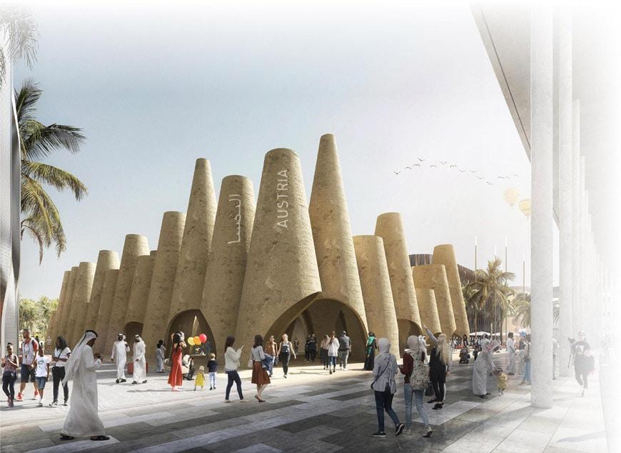 Austria pavilion EXPO Dubai 2020 Querkraft 1