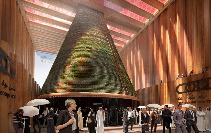 Dutch pavilion EXPO Dubai 2020 V8 Architects