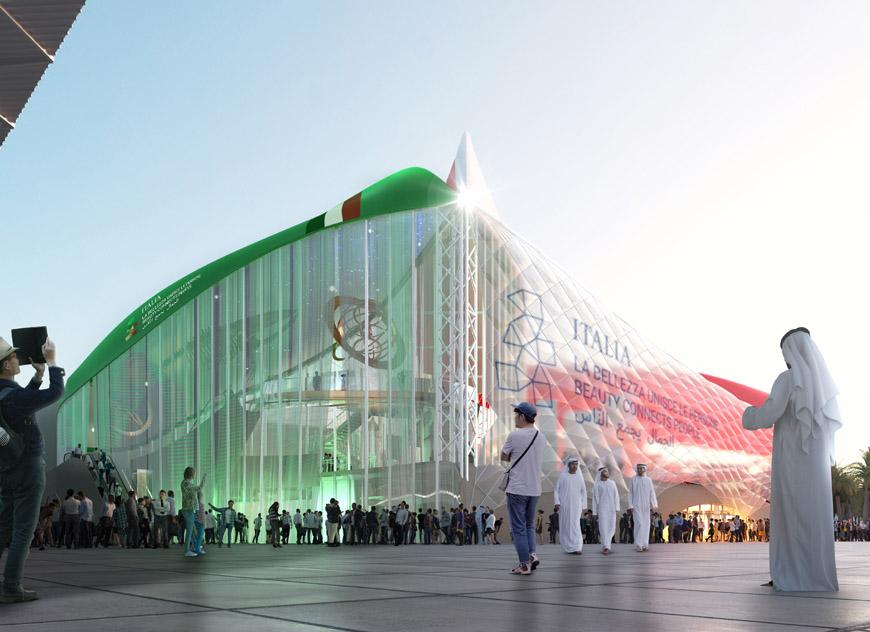 Italy pavilion EXPO Dubai 2020 Carlo Ratti Associati 1