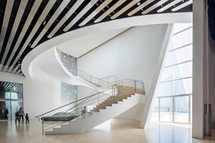 Museo Internacional del Barroco Puebla Toyo Ito interior 02