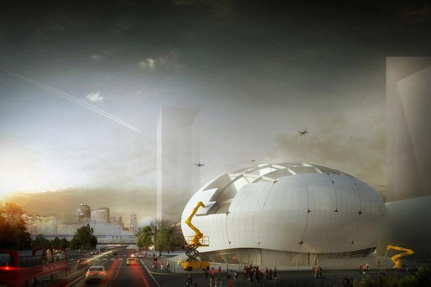Robotic Science Museum Seoul Melike Altinisik Architects 1