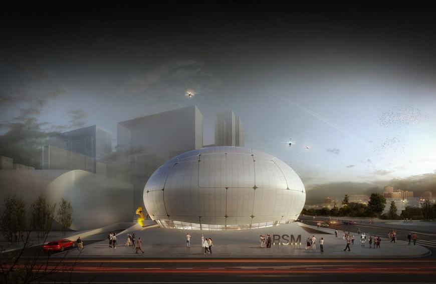 Robotic Science Museum Seoul Melike Altinisik Architects 2
